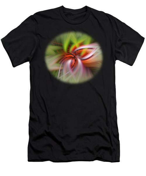 Men's T-Shirt (Athletic Fit) featuring the digital art Monarch In Motion by Mark Myhaver