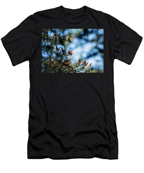 Monarchs In The Tree Men's T-Shirt (Athletic Fit)
