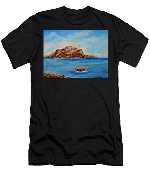 Monemvasia Men's T-Shirt (Athletic Fit)