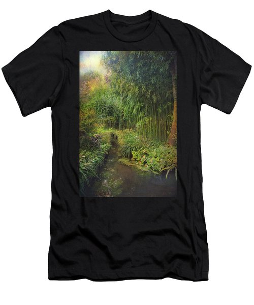 Monets Paradise Men's T-Shirt (Athletic Fit)