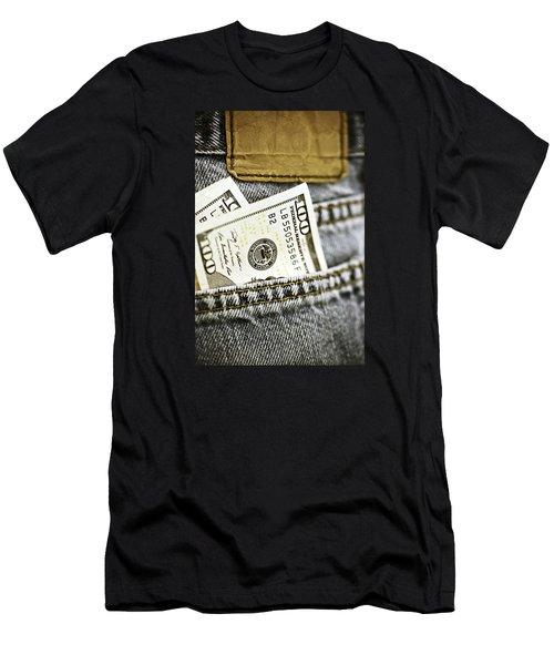 Money Jeans Men's T-Shirt (Athletic Fit)