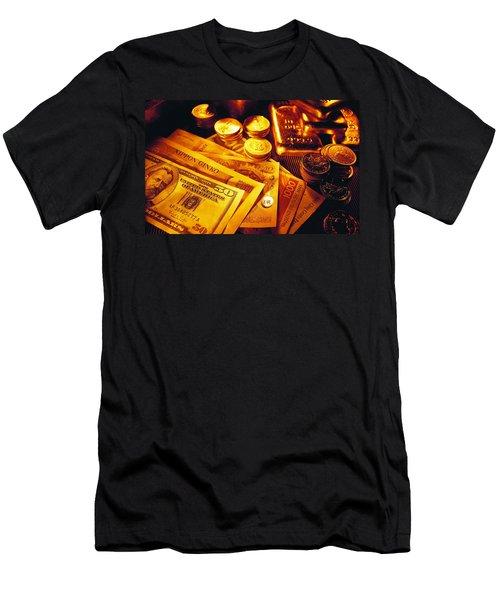 Money Men's T-Shirt (Athletic Fit)