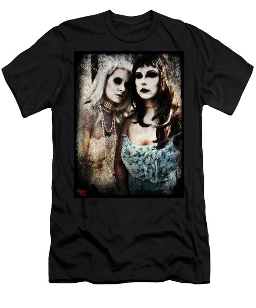 Men's T-Shirt (Slim Fit) featuring the digital art Monique And Ryli 1 by Mark Baranowski