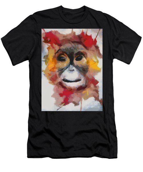 Monkey Splat Men's T-Shirt (Athletic Fit)