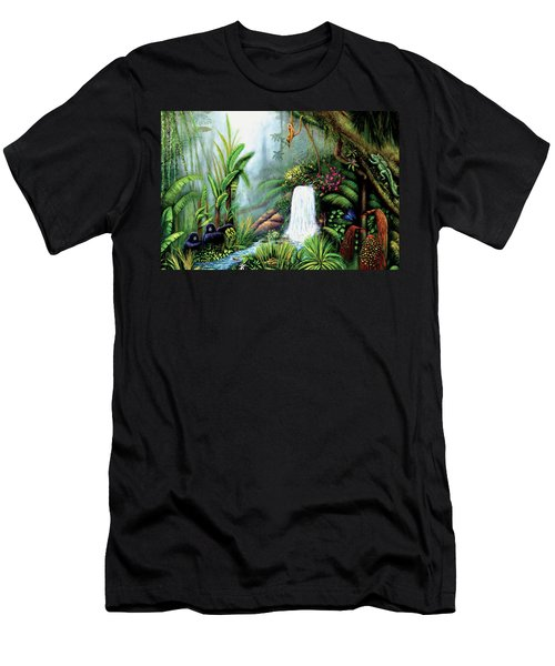 Monkeying Around Men's T-Shirt (Athletic Fit)