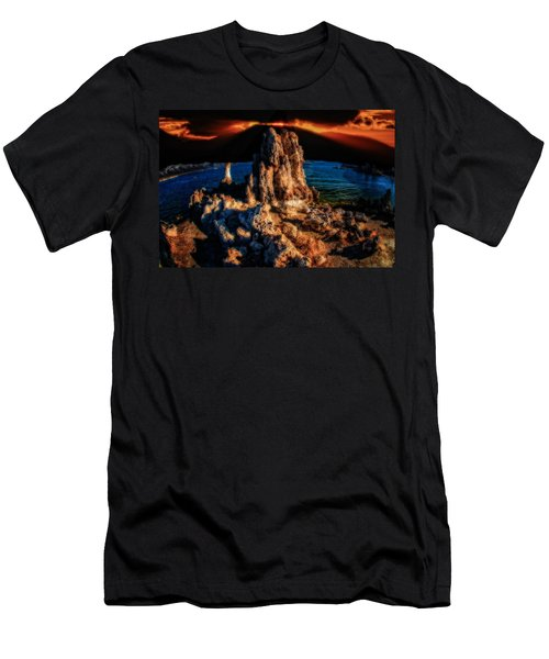 Mono Lake Sunset Men's T-Shirt (Athletic Fit)