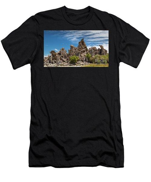 Mono Lake Tufa Men's T-Shirt (Athletic Fit)