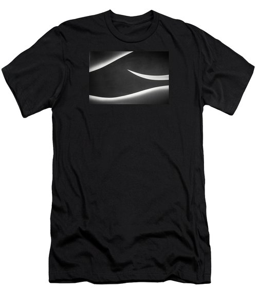 Monochrome Abstract Men's T-Shirt (Athletic Fit)