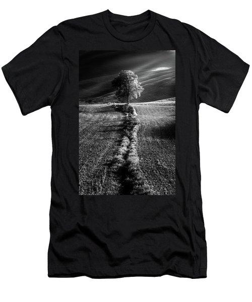 Monochrome Valley Men's T-Shirt (Athletic Fit)