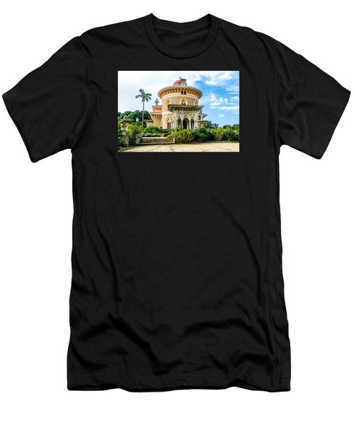 Men's T-Shirt (Slim Fit) featuring the photograph Monserrate Palace by Marion McCristall