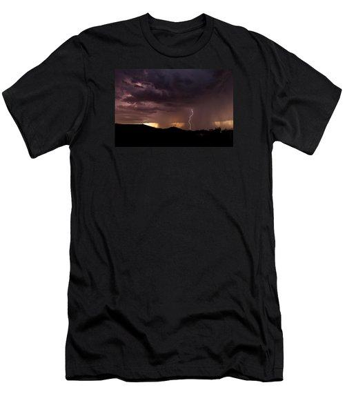 Monsoon Storm Men's T-Shirt (Slim Fit) by Dennis Eckel