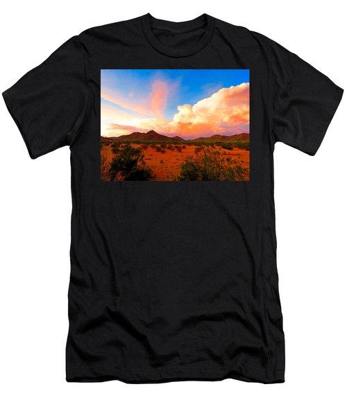 Monsoon Storm Sunset Men's T-Shirt (Athletic Fit)