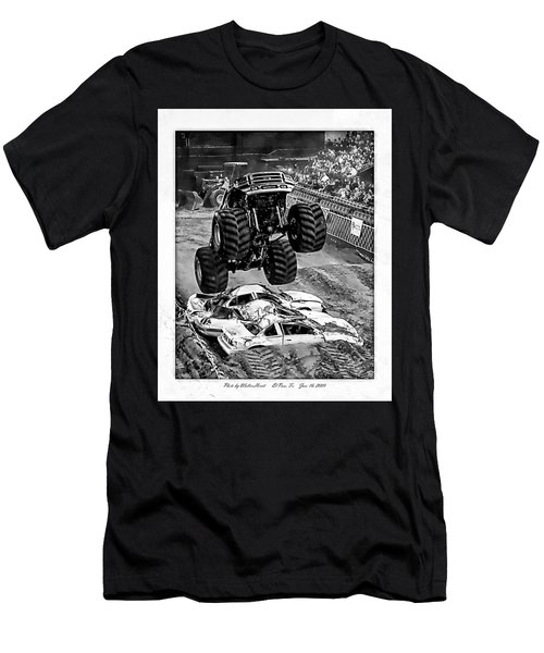 Monster Truck 2b Men's T-Shirt (Athletic Fit)