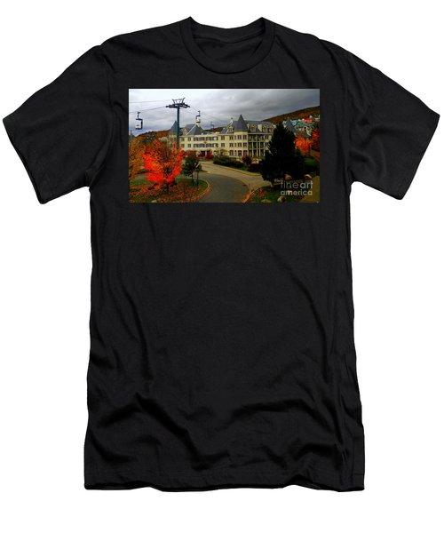 Mont Tremblant,quebec,canada Men's T-Shirt (Athletic Fit)