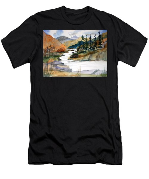 Montana Canyon Men's T-Shirt (Athletic Fit)