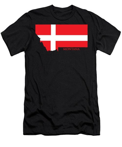 Montana- Denmark Men's T-Shirt (Athletic Fit)