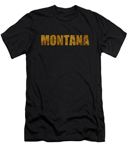 Montana Gold Men's T-Shirt (Athletic Fit)