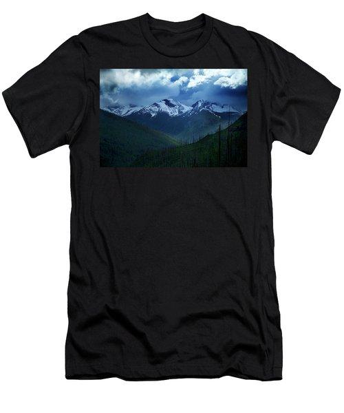 Montana Mountain Vista #2 Men's T-Shirt (Athletic Fit)