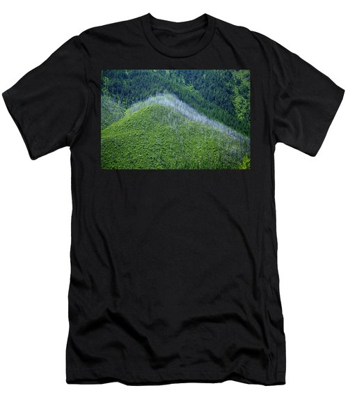 Montana Mountain Vista #4 Men's T-Shirt (Athletic Fit)