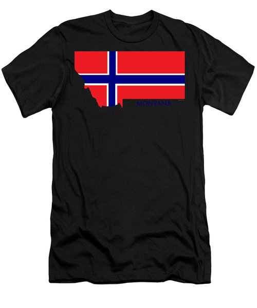 Montana Norwegian Men's T-Shirt (Athletic Fit)