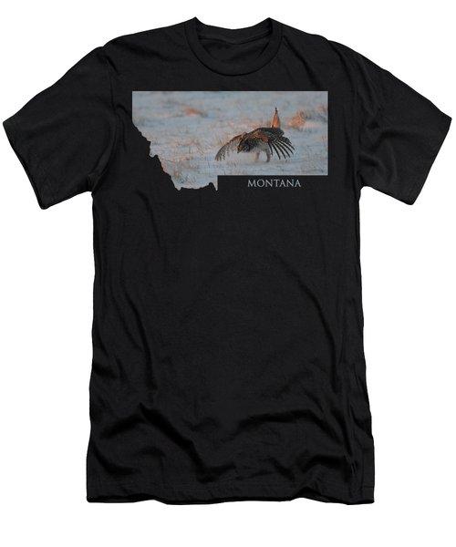 Montana Sharpie Men's T-Shirt (Athletic Fit)