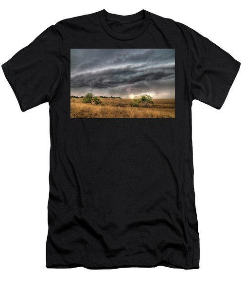 Montana Storm Men's T-Shirt (Athletic Fit)