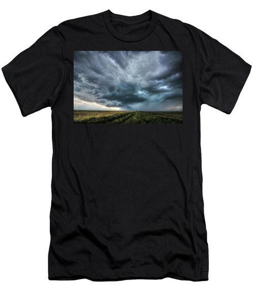 Montana Thunderstorm Men's T-Shirt (Athletic Fit)