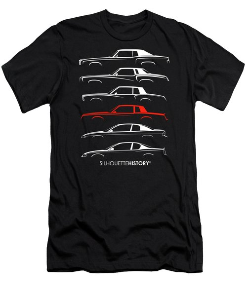 Monte Carlo Sport Silhouettehistory Men's T-Shirt (Athletic Fit)