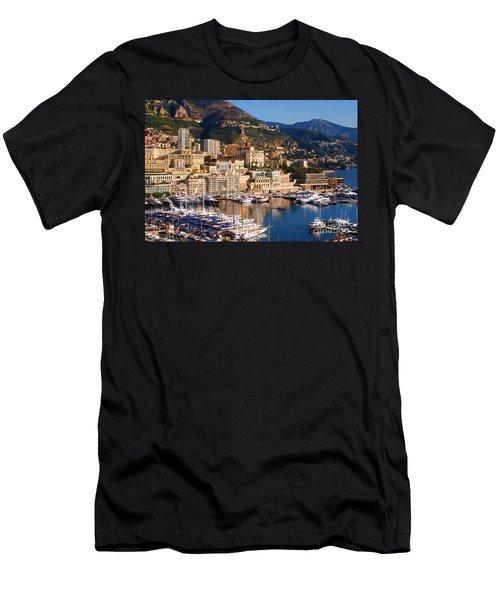 Monte Carlo Men's T-Shirt (Slim Fit) by Tom Prendergast