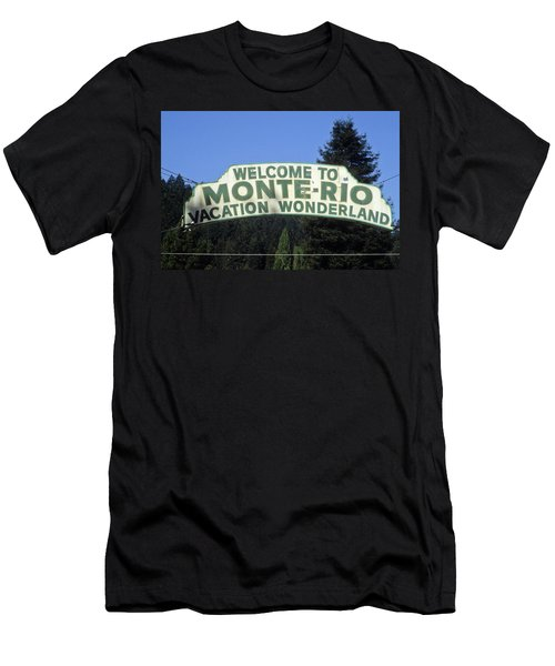 Monte Rio Sign Men's T-Shirt (Athletic Fit)
