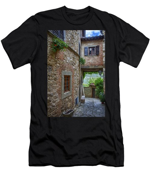 Montefioralle Tuscany 2 Men's T-Shirt (Athletic Fit)
