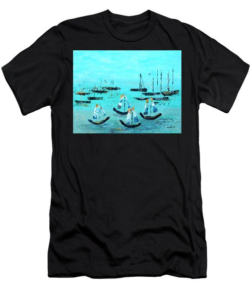 Monterey Boats Men's T-Shirt (Athletic Fit)