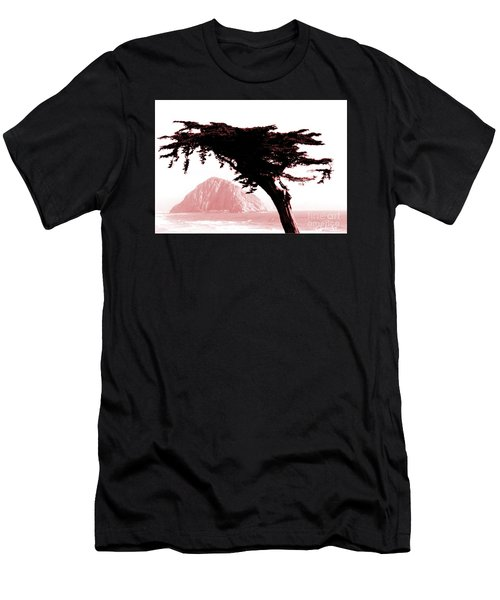 The Beach At Morro Bay Men's T-Shirt (Athletic Fit)