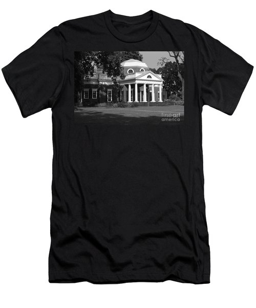 Men's T-Shirt (Slim Fit) featuring the photograph Monticello IIi by Eric Liller