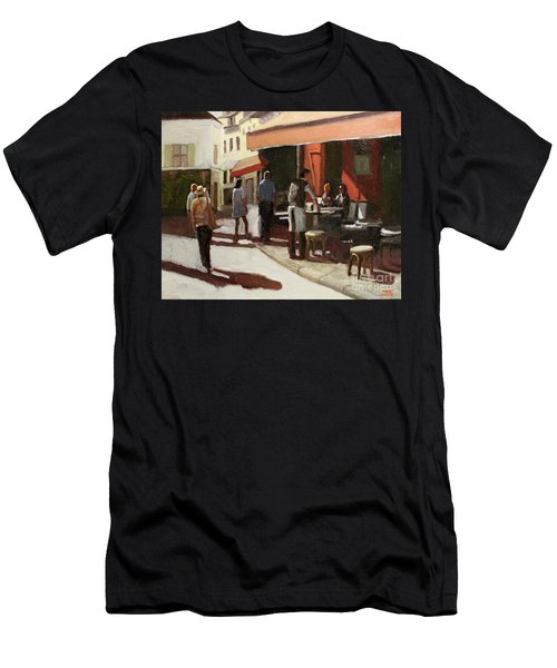 Montmarte Cafe Men's T-Shirt (Athletic Fit)