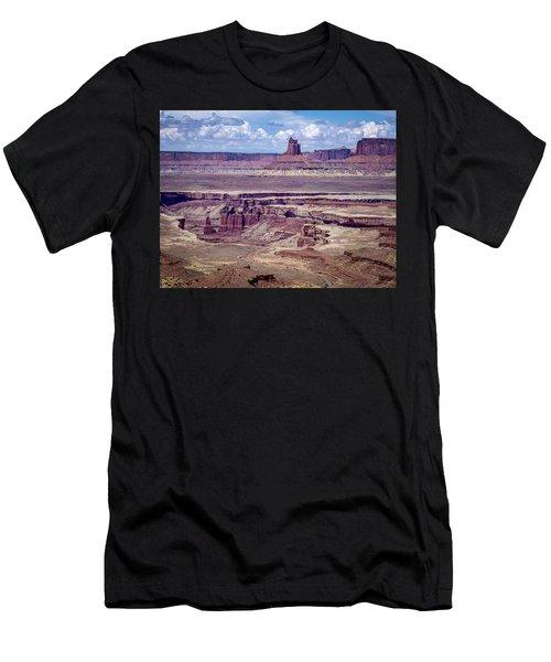 Monument Basin, Canyonlands Men's T-Shirt (Athletic Fit)