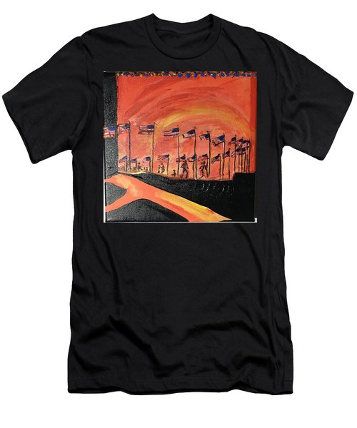 Monument II Men's T-Shirt (Athletic Fit)