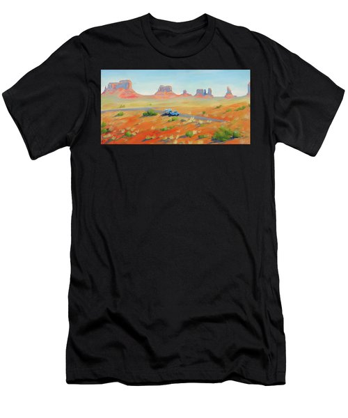 Monument Valley Vintage Men's T-Shirt (Athletic Fit)