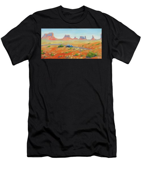 Monument Valley Vintage Men's T-Shirt (Athletic Fit)