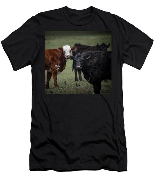 Moo Men's T-Shirt (Athletic Fit)