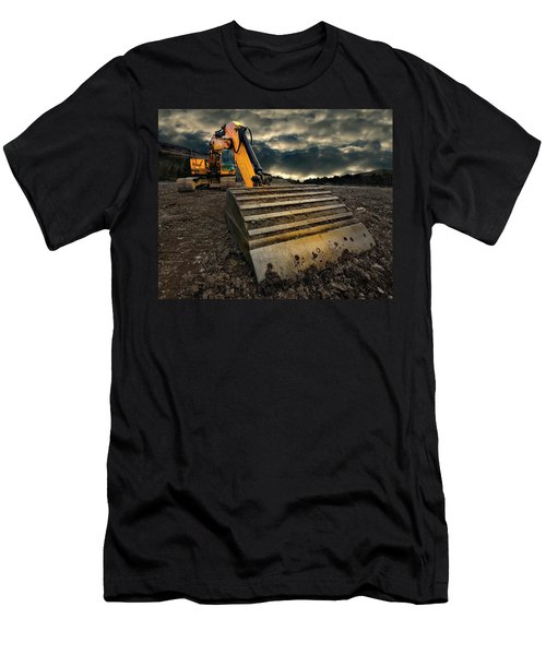 Moody Excavator Men's T-Shirt (Athletic Fit)