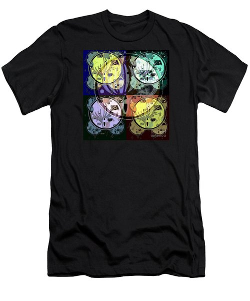 Men's T-Shirt (Athletic Fit) featuring the mixed media Moon 2 by Ann Calvo
