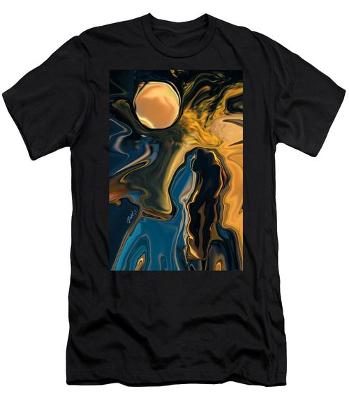 Moon And Fiance Men's T-Shirt (Athletic Fit)