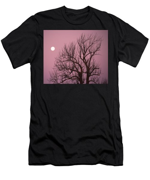 Moon And Tree Men's T-Shirt (Athletic Fit)