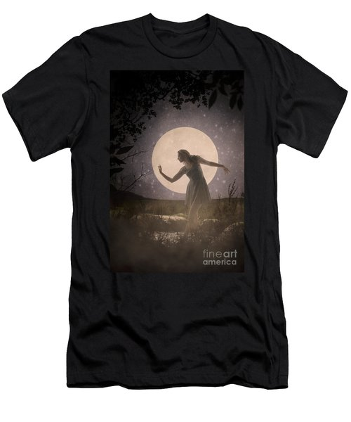 Moon Dance 001 Men's T-Shirt (Athletic Fit)