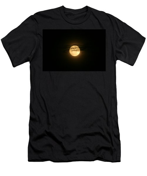 Men's T-Shirt (Slim Fit) featuring the digital art Moon Dance by Barbara S Nickerson