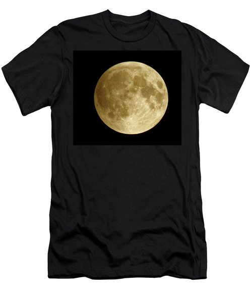 Moon During Eclipse Men's T-Shirt (Athletic Fit)
