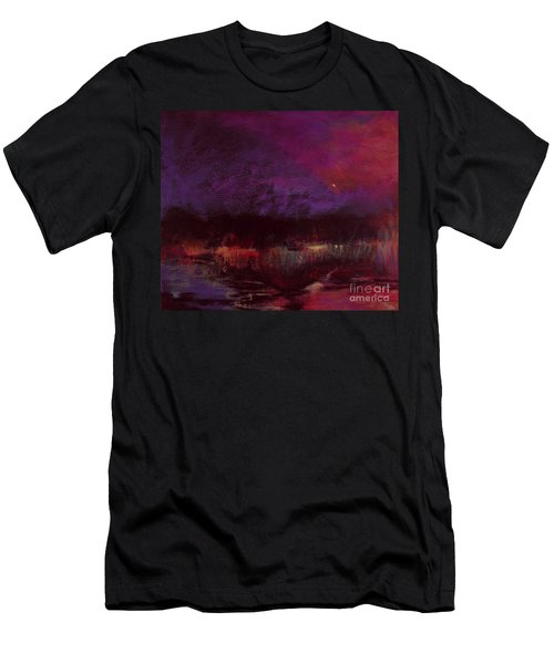 Moon Glow 5-6-11 Julianne Felton Men's T-Shirt (Athletic Fit)