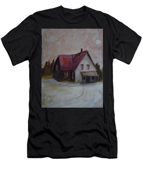 Moon House Men's T-Shirt (Athletic Fit)