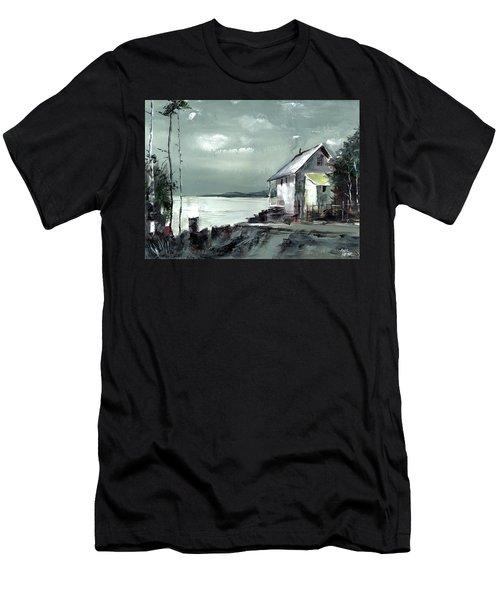 Moon Light Men's T-Shirt (Athletic Fit)